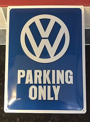 VW Parking only sign - Metal Pressed Sign - official licensed product