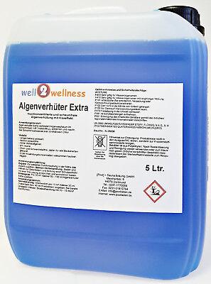 Pool Algenvernichter Extra 'BLUE' Algenmittel Algenex 5,0 l - hochkonzentriert