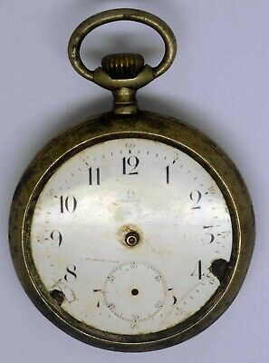 Vintage OMEGA Pocket Watch. For Parts Or Repairs