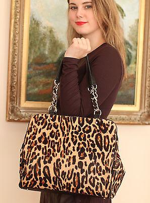 Point Spade - Kate Spade $1295 LUX Crown Point Garcia Calfhair Leopard Leather Shoulder Bag