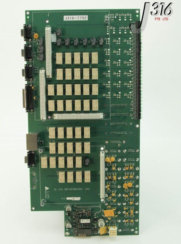 7792 Lam Research 16 Igs Motherboard, Dgf 710-031325-106 810-031325-106