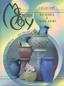 McCoy Art Pottery - Patterns Forms Dates Etc. / Illustrated Book + Values