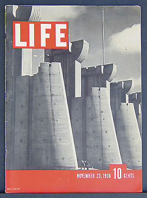 Rare Issue #1, Life Magazine, (November 23, 1936)  First Edition, Fine!!