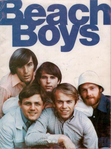 BEACH BOYS 1966 PET SOUNDS TOUR CONCERT PROGRAM BOOK / BRIAN WILSON / VG 2 NMT
