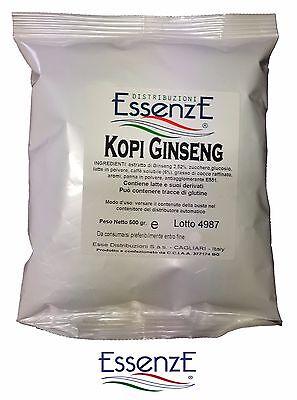 1 Kg. caffè SOLUBILE al GINSENG - PREPARATO PROFESSIONALE PER BAR DISTRIBUTORE