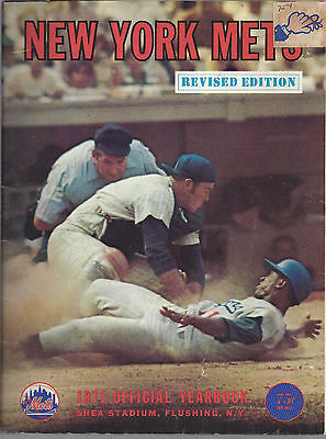 New York Mets 1971 Official Team Yearbook Revised Edition