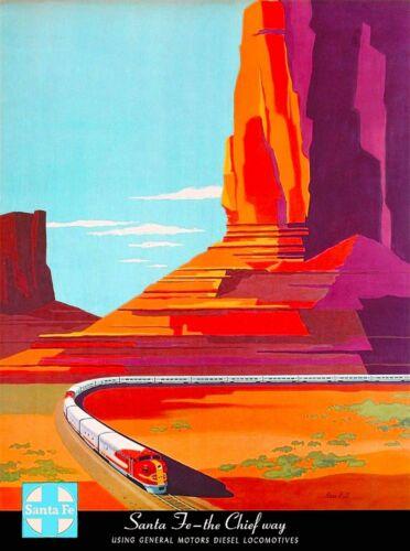 New Mexico Santa Fe Chief