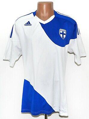 FINLAND NATIONAL TEAM 2011/2012 HOME FOOTBALL SHIRT JERSEY ADIDAS SIZE XL image
