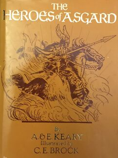 Book on Scandinavian myths: The Heroes of Asgard