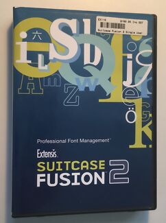Extensis Suitcase Fusion 2 (and Font Doctor 1) Install DVD (Mac)