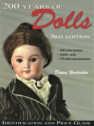 5,000 Antique Dolls - 400 Photos - Types Makers Values / In-Depth Book