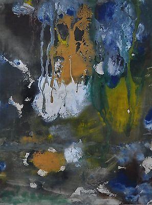 Hanne Alt 1971 - Monotypie - abstrakte Komposition