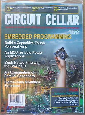 Circuit Cellar Electronics Hobby Project Magazine April 2012 Issue 261 Sealed