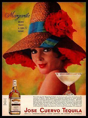 "1963 Jose Cuervo Tequila Margarita ""More Than A Girl"