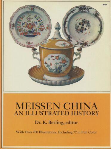 Antique German Meissen China - Types Development Marks Dates / Scarce Book