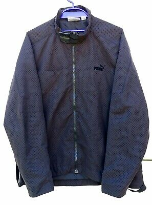 Puma Black Light Weight Jacket Size M