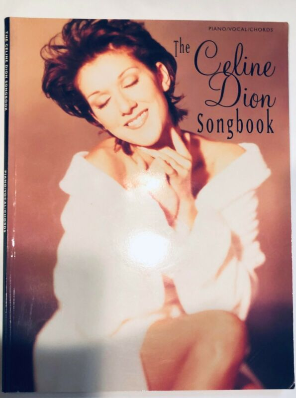 Celine Dion Piano Sheet Music Large Book/intermediate to advanced level