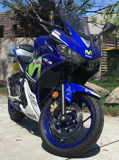 Yamaha R3 Movistar LAMS