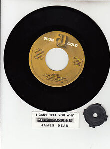 EAGLES-THE-I-Cant-Tell-You-Why-James-Dean-7-45-record-NEW-juke-box-strip