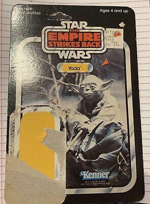 Vintage Star Wars Yoda Card ESB 41 Cardback