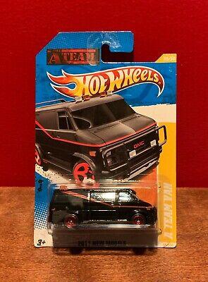 Hot Wheels GMC A Team Van Black 2011 New Models 39/50 39/244 NEW
