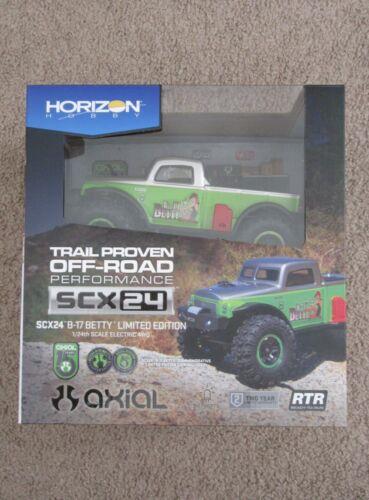 Axial SCX24 B-17 Betty Limited 1/24 4WD RTR Scale Mini Crawler Green AXI00004