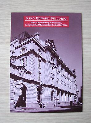 King Edward Building London Postcard Mint