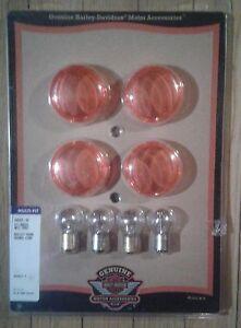 Harley Davidson  multi fit bullet  signal lens kit ( new)