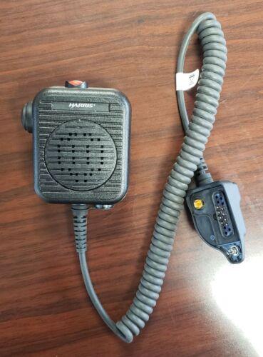 Harris Speaker Mic P5300/5400/5500 & XG15/25/75, PN: MC-011617-601 or MAEV-NAE6C