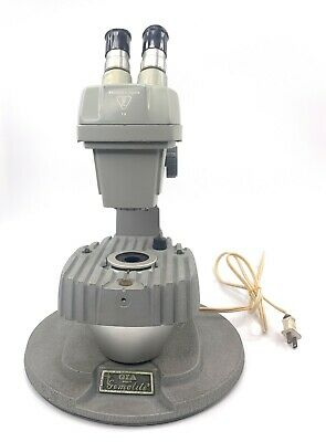 Gia Gemolite Mark V Microscope Bausch Lomb Binocular Head