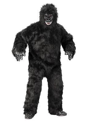 Gorilla Halloween Kostüm Gorillakostüm Affenkostüm Affe