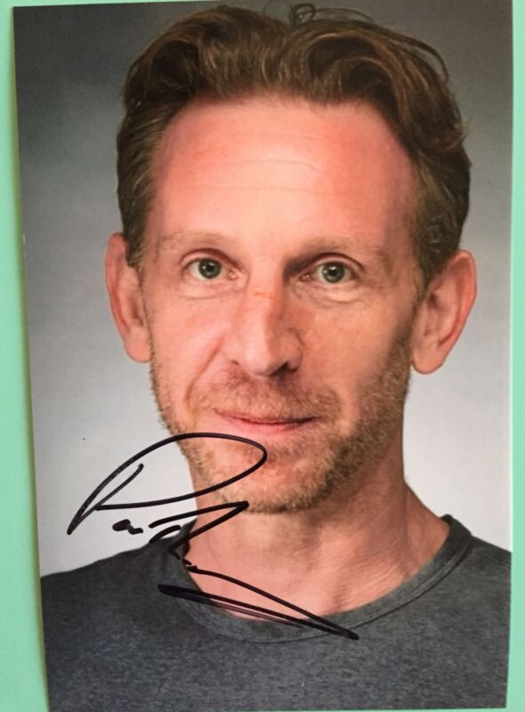 """Paul Thornley Signed Color Photo 4""""X6 Harry Potter and the Cursed Child Broadway"""