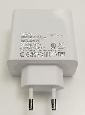 Original Huawei USB C Adaptador 65W HW-200325EP0 Rápido Charge Cargador Blanco