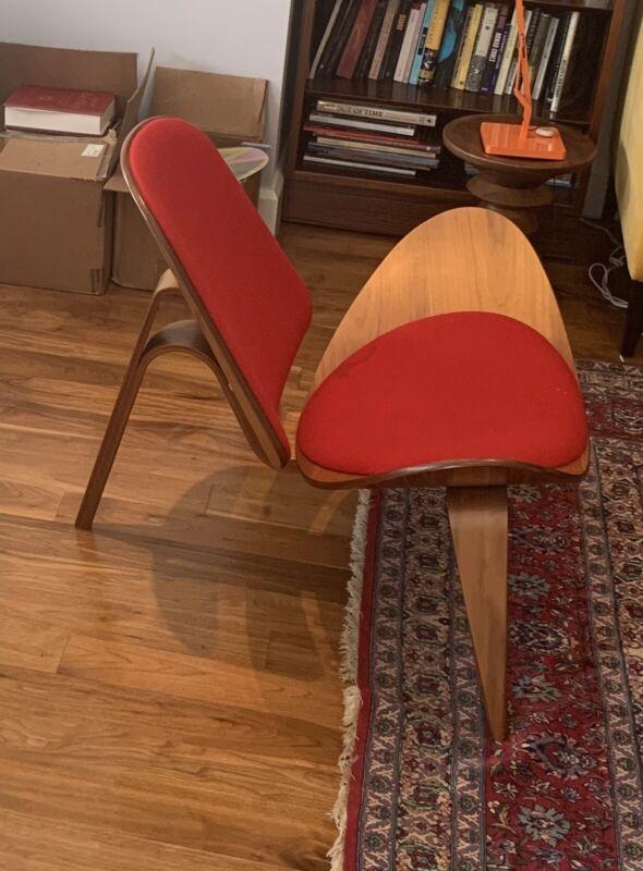 Hans Wegner CH07Lounge Chairs for Carl Hansen & Son (2x available)