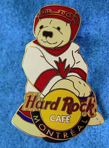 MONTREAL CANADIAN ICE HOCKEY HERRINGTON CITY *POLAR* BEAR Hard Rock Cafe PIN LE