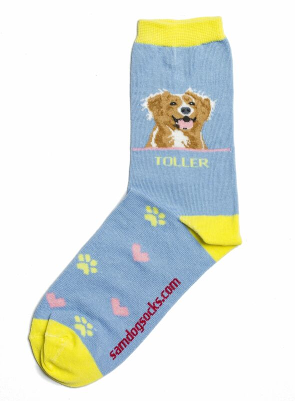 Nova Scotia Duck Tolling Retriever Dog Socks AKA Toller