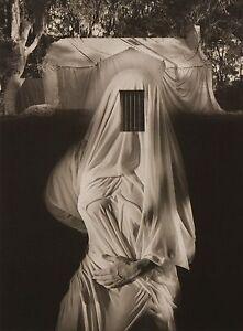 Jerry Uelsmann Rare Original Large Platinum Photograph 1991 Draped Nude AP