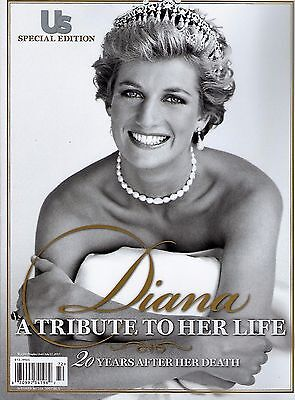 New Us Weekly Special Edition Magazine Princess Diana Life Tribute 20 Years 72P