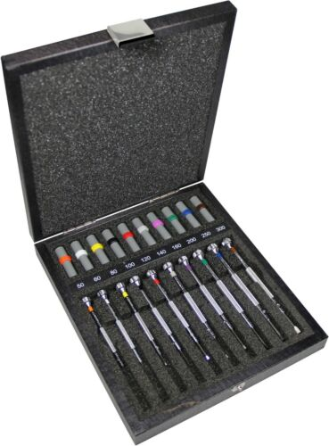 Bergeon 30080-A10 Assortment of 10 screwdrivers including tip refills