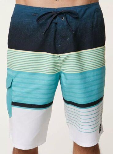 O'Neill LENNOX Mens 100% Polyester Boardshorts Aqua Size 40