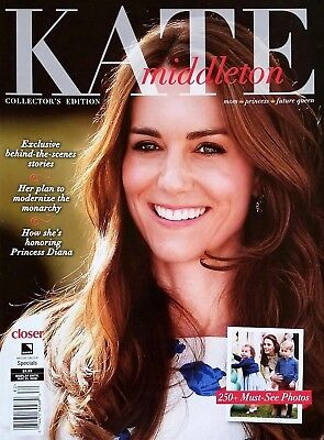 KATE MIDDLETON~CLOSER MAGAZINE COLLECTOR'S EDITION 250+ MUST SEE PHOTOS 2018 NEW