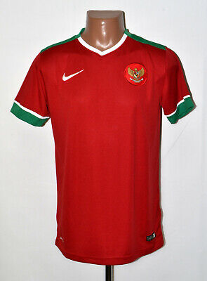 INDONESIA NATIONAL TEAM 2014/2015 HOME FOOTBALL SHIRT JERSEY NIKE SIZE L ADULT image