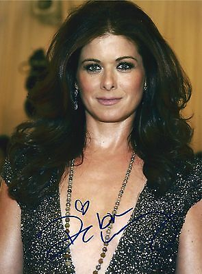 Debra Messing Signed 8X10 Photo   Will   Grace  The Mysteries Of Laura