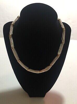 Lauren Ralph Lauren Collar Chain Necklace, 18 in Gold/Silver