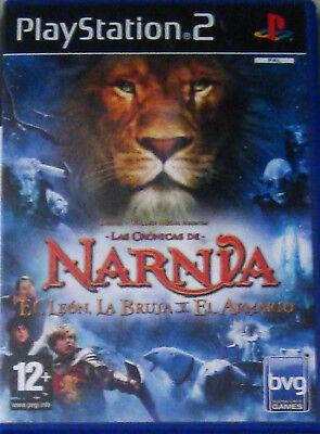 PS2: Las Cronicas de Narnia, El Leon, La Bruja y El Armario. Original. Completo segunda mano  Zaragoza
