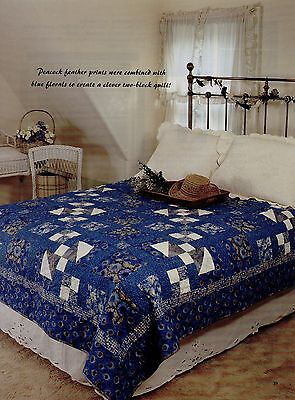 Peacock Path      Quilt Pattern Only