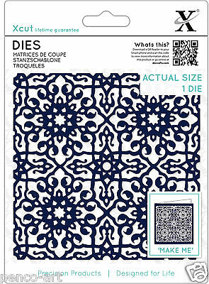 1pc X cut die Moroccan tile for use in Xcut or almost any die cutting machine