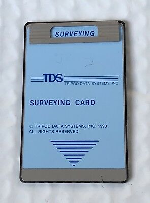 Tds Surveying Card For Hp 48gx 48sx Calculators
