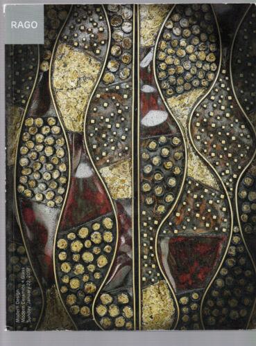 Modern Design RAGO 2017 Ceramics Art Glass