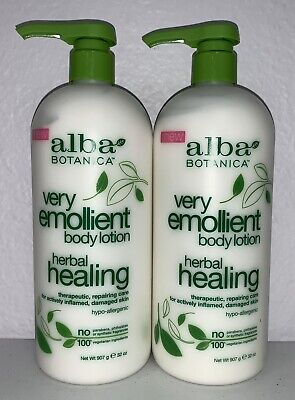Alba Botanica - Body Lotion - Very Emollient - Herbal - 64 Oz (2 -